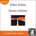Couverture Retour à Reims Editions Audiolib 2021
