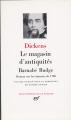 Couverture Le Magasin d'antiquités Editions Gallimard  (Bibliothèque de la Pléiade) 1963