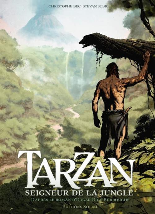 Couverture Tarzan : Seigneur de la jungle, tome 1