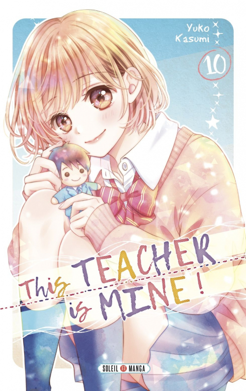 Couverture This teacher is mine !, tome 10