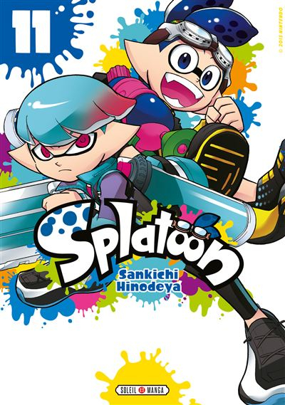 Couverture Splatoon, tome 11