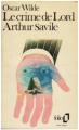 Couverture Le crime de Lord Arthur Savile Editions Mercure de France 1975
