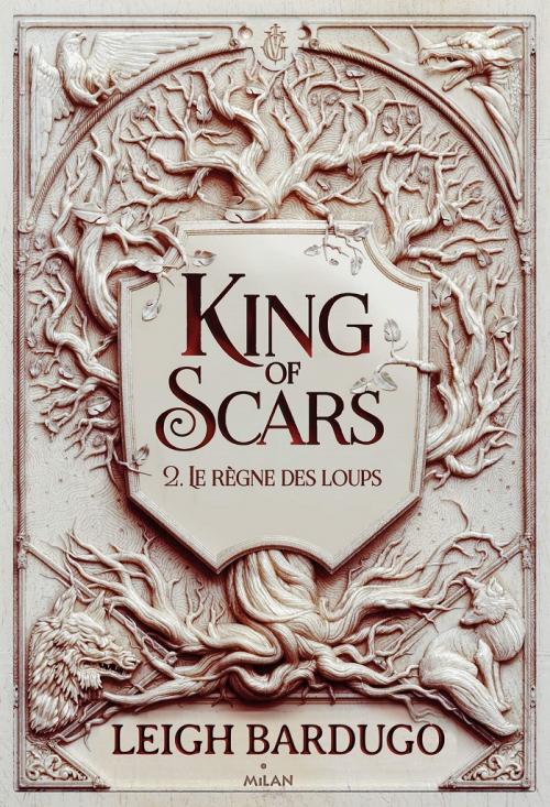Couverture King of Scars, tome 2 : Le règne des Loups