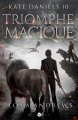 Couverture Kate Daniels, tome 10 : Triomphe magique Editions MxM Bookmark 2021