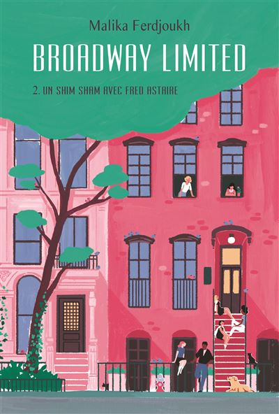 Couverture Broadway Limited, tome 2 : Un Shim-Sham avec Fred Astaire