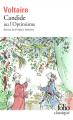 Couverture Candide / Candide ou l'Optimisme Editions Folio  (Classique) 20072