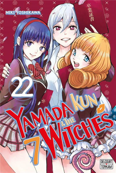 Couverture Yamada kun & the 7 witches, tome 22