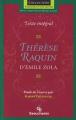 Couverture Thérèse Raquin Editions Beauchemin (Parcours d'une oeuvre) 2001