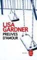 Couverture Preuves d'amour Editions Le Livre de Poche (Thriller) 2015