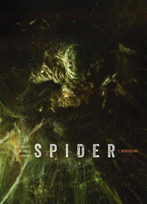 Couverture Spider, tome 2 : Wonderland