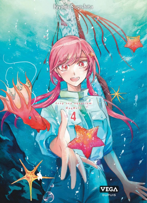 Couverture Deep sea aquarium Magmell, tome 4