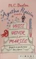 Couverture Agatha Raisin enquête, tome 20 : Voici venir la mariée Editions France Loisirs (Piment - Noir) 2021