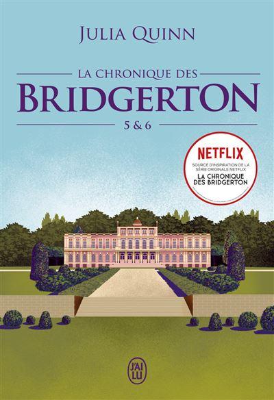 Couverture La chronique des Bridgerton, double, tomes 5 et 6