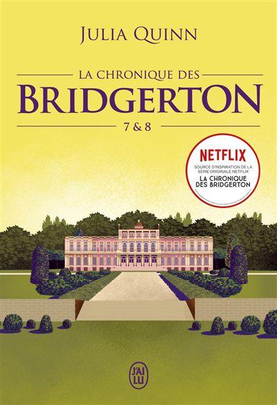 Couverture La Chronique des Bridgerton, double, tomes 7 et 8