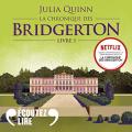 Couverture La chronique des Bridgerton, tome 1 : Daphné et le duc Editions Audible studios 2021