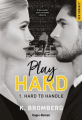 Couverture Play hard, tome 1 : Hard to handle Editions Hugo & cie 2021