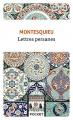 Couverture Lettres persanes Editions Pocket (Classiques) 2021