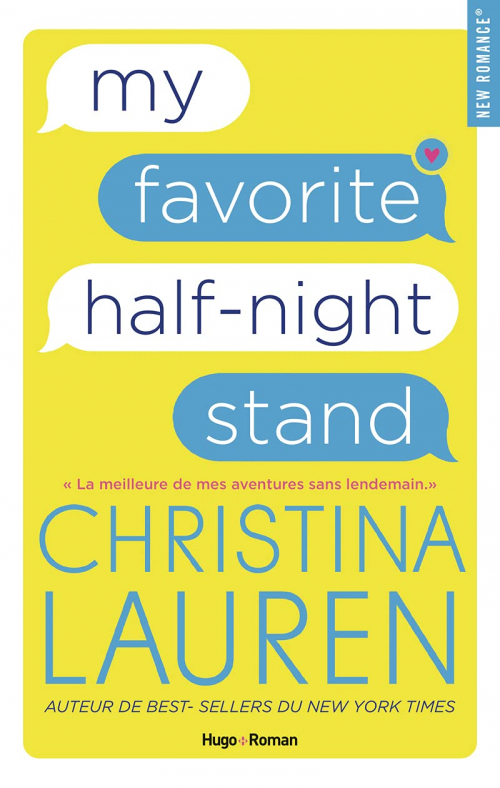 Couverture My Favorite Half-Night Stand