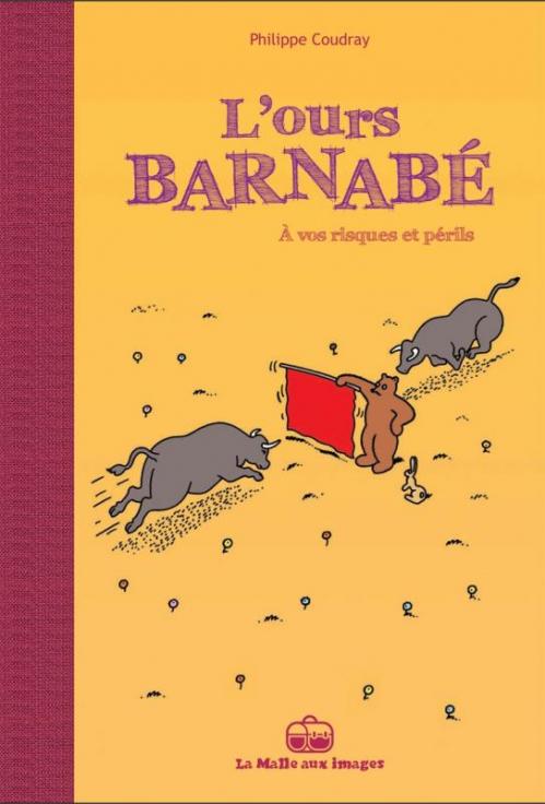 Couverture L'ours Barnabé, tome 14 : À Vos Risques et Périls