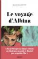 Couverture Le voyage d'Albina Editions La Voix 2021