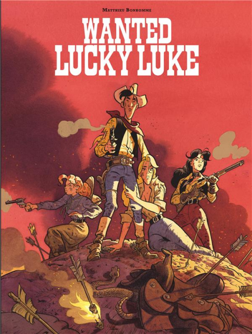 Couverture Wanted Lucky Luke