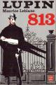 Couverture 813, tome 1 : La double vie d'Arsène Lupin Editions Le Livre de Poche 1966
