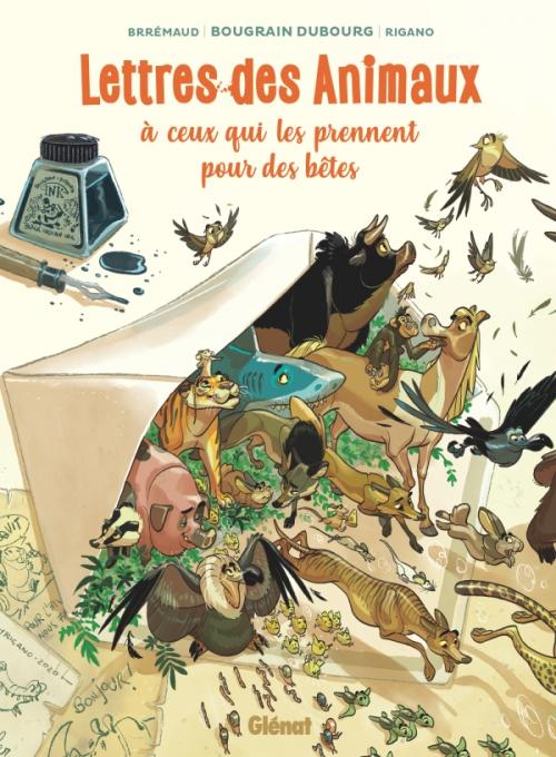 Couverture Lettres des animaux à ceux qui les prennent pour des bêtes