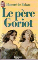 Couverture Le Père Goriot Editions J'ai Lu 1986