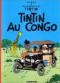 Couverture Les aventures de Tintin, tome 02 : Tintin au congo Editions Casterman 1960