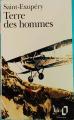 Couverture Terre des hommes Editions Folio  1991