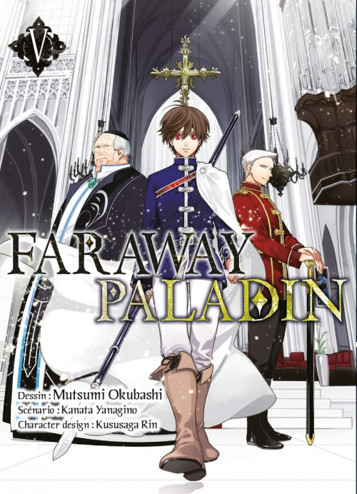 Couverture Faraway Paladin, tome 5