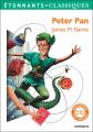 Couverture Peter Pan (roman) Editions Flammarion (Étonnants classiques) 2018