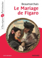 Couverture Le Mariage de Figaro Editions Magnard (Classiques & Patrimoine) 2019