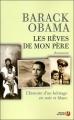Couverture Les rêves de mon père Editions Presses de la cité 2008