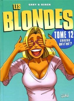 Couverture Les blondes, tome 12 : Coucou qui c'est ?