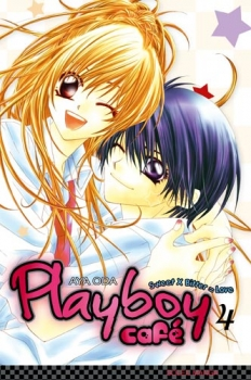 Couverture Playboy Café, tome 4