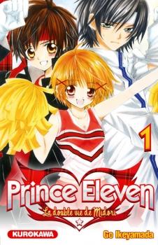 Couverture Prince Eleven - La double vie de Midori, tome 01