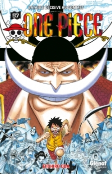 Couverture One Piece, tome 57 : La bataille décisive au sommet