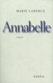 Couverture Annabelle Editions Boréal 1996