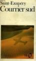 Couverture Courrier sud Editions Folio  1972