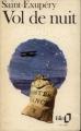 Couverture Vol de nuit Editions Folio  1971