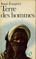 Couverture Terre des hommes Editions Folio  1973