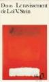 Couverture Le ravissement de Lol V. Stein Editions Folio  1987