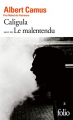 Couverture Caligula Editions Gallimard  2013