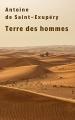 Couverture Terre des hommes Editions Gallimard  2020