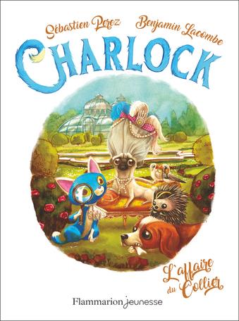 Couverture Charlock, tome 3 : L'affaire du collier