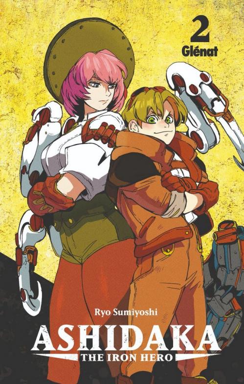 Couverture Ashidaka : The Iron Hero, tome 2