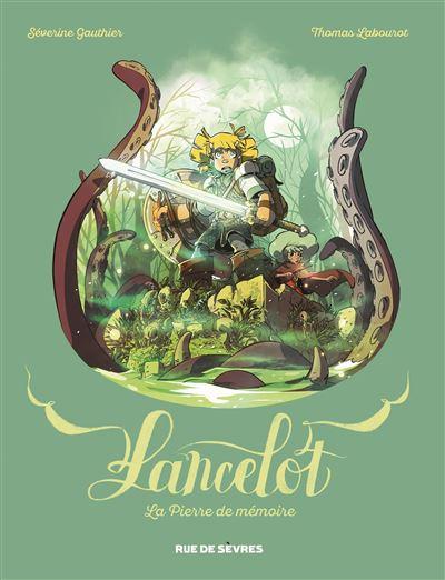 Couverture Lancelot (Gauthier et Labourot), tome 1 : La pierre de mémoire