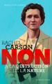 Couverture Rachel Carson : Non à la destruction de la nature Editions Actes Sud (Junior - Ceux qui ont dit non) 2021