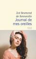 Couverture Journal de mes oreilles Editions Flammarion 2021